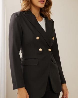 Atmos&Here Gigi Blazer - Blazers (Black)