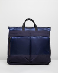 Paul Smith - Stripe Zip Two-Way Tote Bag