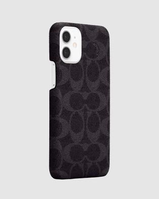 Coach Slim Wrap Case for iPhone 12 Mini - Tech Accessories (Blue)