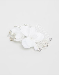 Ivory Knot - Zelda Hair Comb