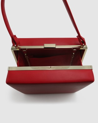 Morgan & Taylor Natasha Top Handle Bag - Handbags (Red)