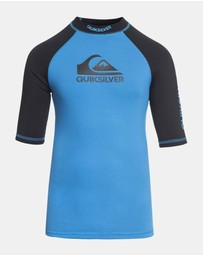 Boys 8-16 On Tour Short Sleeve UPF 50 Rash Vest