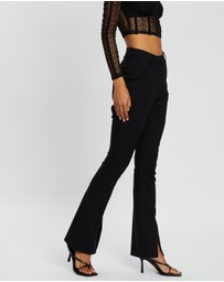 Dazie - The Runaways Slim Slit Detail Pants