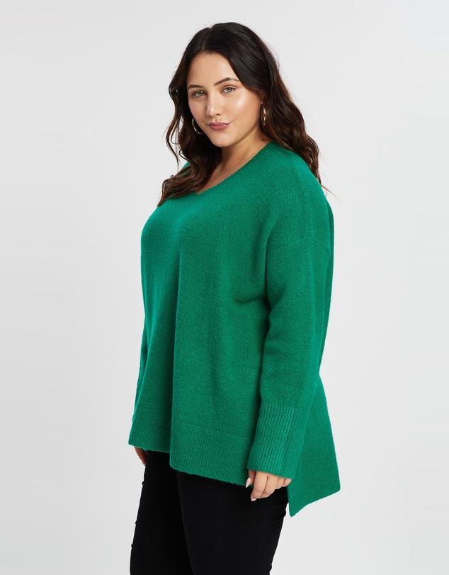 Women Fiona High Low Knit