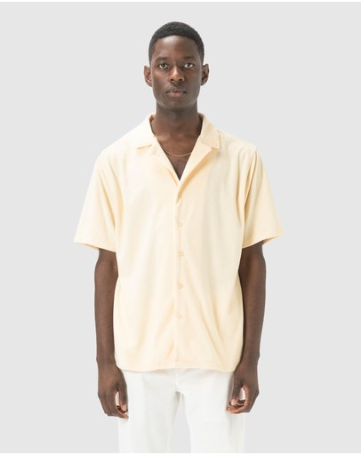 Barney Cools - Holiday Terry Short-Sleeve Shirt