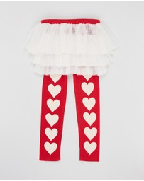 Rock Your Kid - ICONIC EXCLUSIVE Sweet Heart Circus Tights - Kids