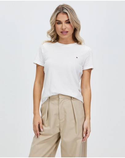 Tommy Hilfiger Heritage Crew Neck Tee Classic White