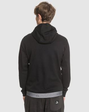 Quiksilver Mens Adapt Half Zip Hoodie - Hoodies (Black)