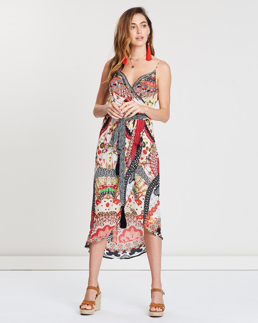 Camilla Vintage Vixen Asymmetric Wrap Dress