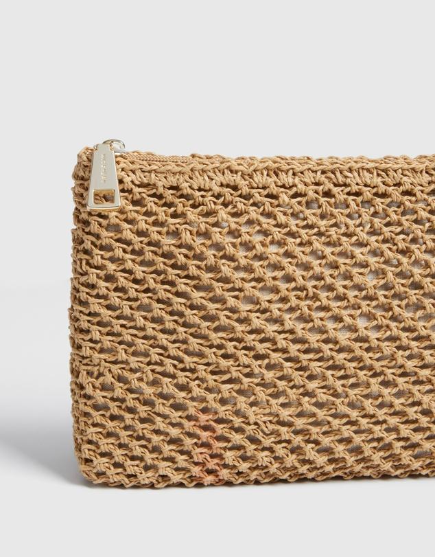 Women Sierra Crochet Pouch