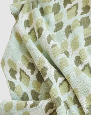 Banabae Eucalyptus Drops Blanket - Blankets (Multi)