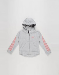 adidas Performance - 3-Stripe Full-Zip Hoodie - Kids -Teens
