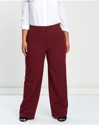 Atmos&Here Curvy - ICONIC EXCLUSIVE - Cindy Wide Leg Pants