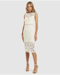 Cooper St - Hinterland High Neck Lace Dress