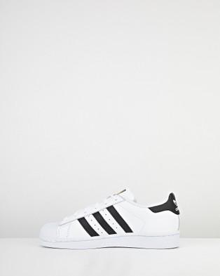 adidas Originals Superstar Foundation Grade School - Lifestyle Shoes (White/Black)