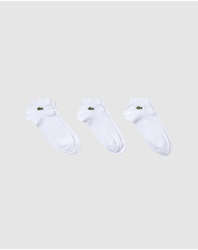 Lacoste - 3-Pack Ankle Sport Socks