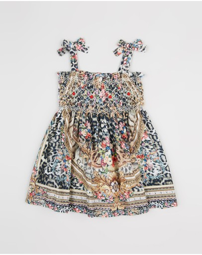 Babies Dress with Shirring - Babies