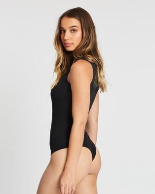 Atmos&Here Nancy Turtle Bodysuit - Tops (Black)