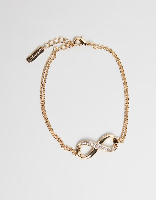 Women Infinitely Yours Bracelet with Swarovski Crystals