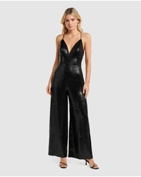 Forever New - KARA SEQUIN JUMPSUIT