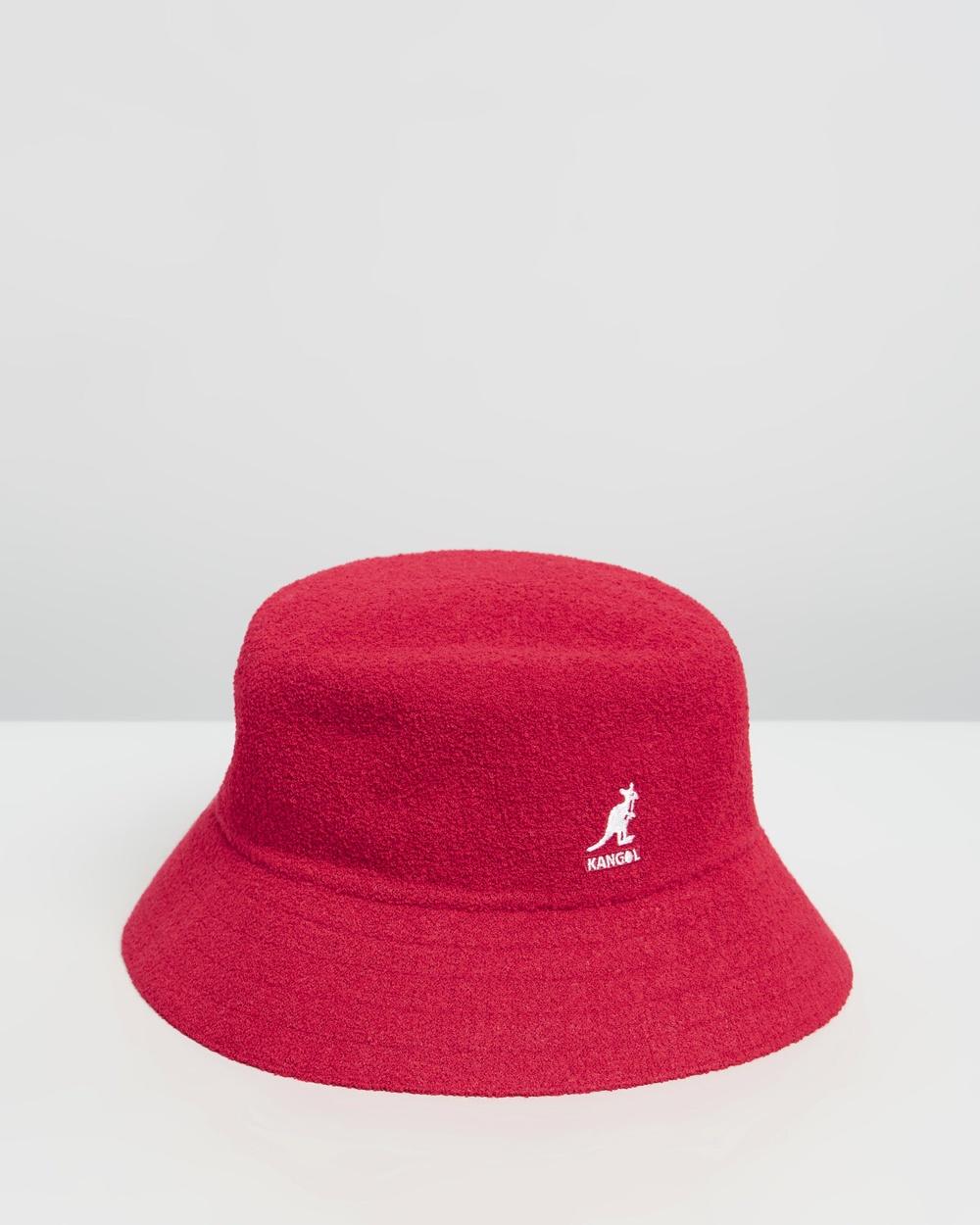 Kangol Bermuda Bucket Hat Hats Scarlet