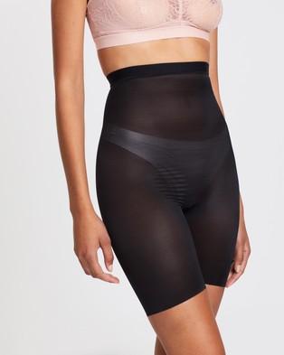 Spanx Skinny Britches High Waist Mid Thigh Shorts Underwear & Sleepwear Very Black High-Waist Mid-Thigh