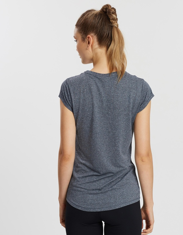Puma - Active Logo Heather Tee