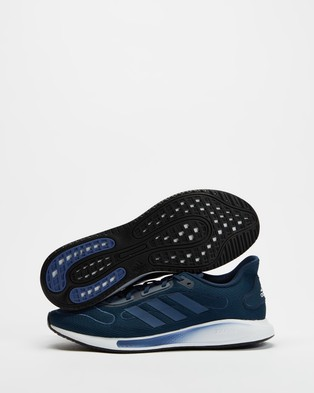 adidas Performance Galaxar Run   Men's - Performance Shoes (Crew Navy, Crew Blue & Cream White)