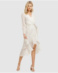 Cooper St - Palma Long Sleeve Frill Dress