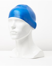 Speedo - Plain Moulded Silicone Cap