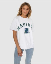 Madison The Label - College Sweater Tee