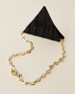 Luv Aj Mariner Toggle Necklace - Jewellery (Gold)