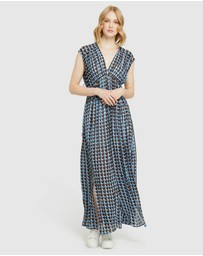 Oxford - Aria Georgette Maxi Dress