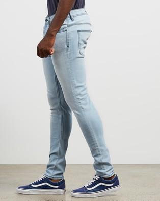 Lee Z One Slim Fit Jeans - Tapered (Bellarine Blue)