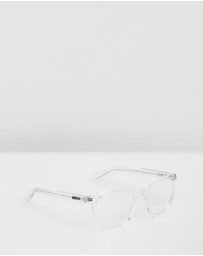 Quay Australia - Quay x Chrissy Hardwire Clear Square Blue Light Lenses