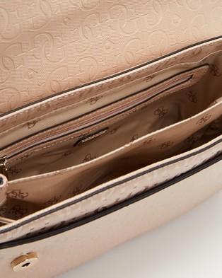 Guess Chic Shine Shoulder Bag - Bags (Blush)