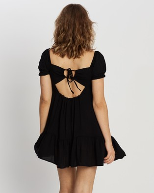 All About Eve Frida Mini Dress - Dresses (BLACK)