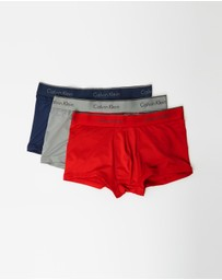 Calvin Klein - 3-Pack Microfibre Low-Rise Trunks