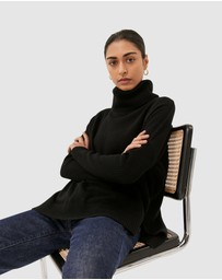 SABA - Claudia Wool Roll Neck Knit