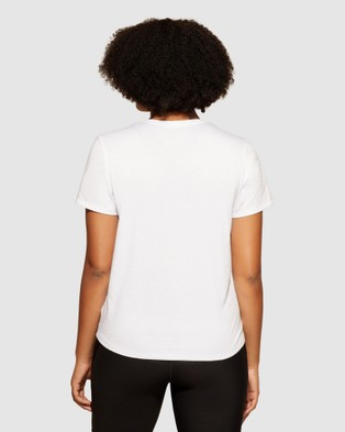 dk active Lane Tee T-Shirts & Singlets White