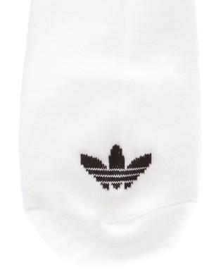 adidas Originals Trefoil Liner Socks 3 Pack - Underwear & Socks (White & Black)