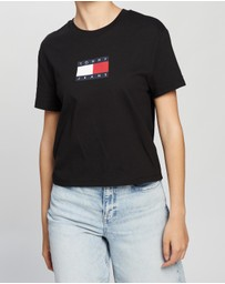 Tommy Jeans - Tommy Flag Tee