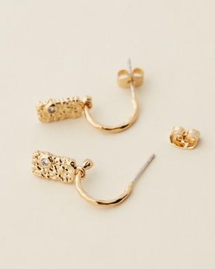 Carly Paiker Relic Earrings - Jewellery (Gold)