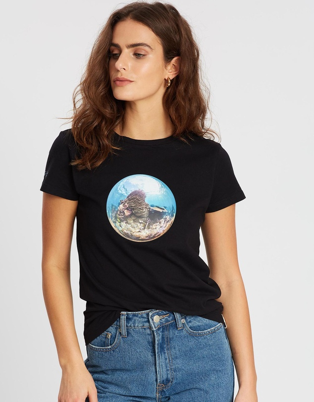 Conscious Swim - Underwater Earth Coral Tee