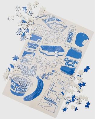 Typo 1000 Piece Puzzle - Accessories (Food Illustration)