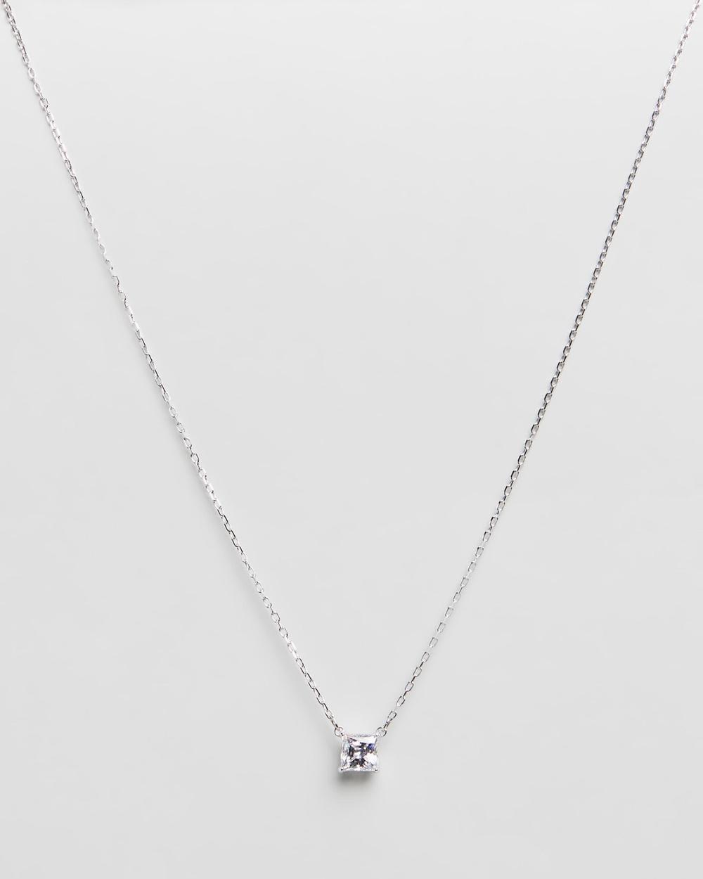 Swarovski Attract Necklace Jewellery Silver