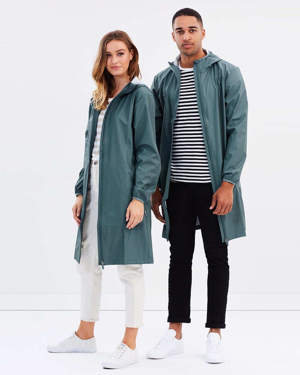 Base Jacket Long by RAINS Online  904649273468
