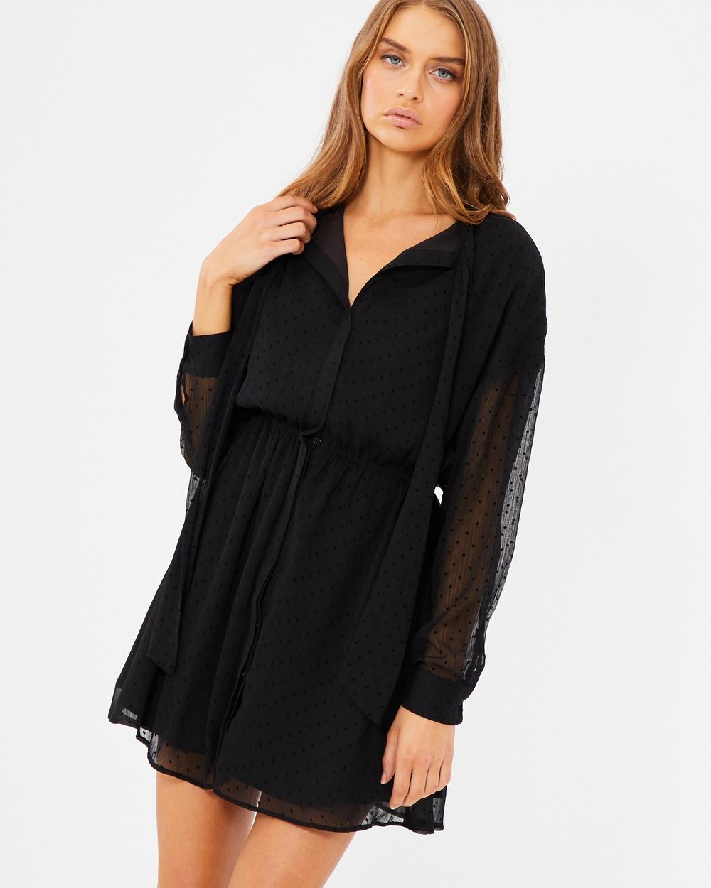 Photo of Tussah Black Spot Nevada Shirt Dress - beautiful dress from Tussah online