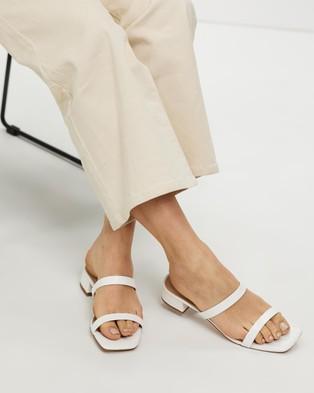 ALDO - Biliwen Mules - Sandals (White) Biliwen Mules