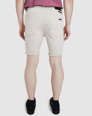 Standard Em 2 Biker Shorts - Shorts (STONE)